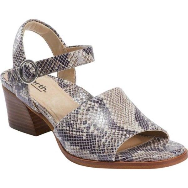 アース レディース サンダル シューズ Murano Haze Ankle Strap Sandal Taupe Multi Smooth Leather