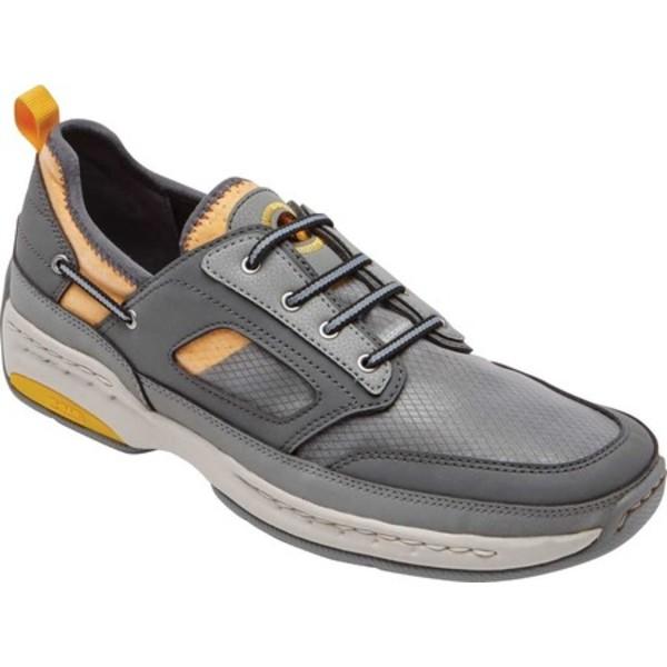 ダナム メンズ スニーカー シューズ Captain Sport Sneaker Grey Textile