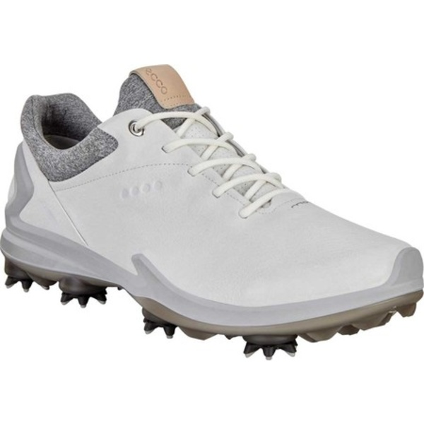 エコー メンズ スニーカー シューズ Golf BIOM G3 GORE-TEX Sneaker Shadow White Leather