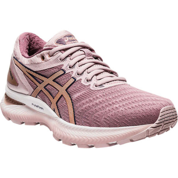 アシックス レディース スニーカー シューズ GEL-Nimbus 22 Running Sneaker Watershed Rose/Rose Gold