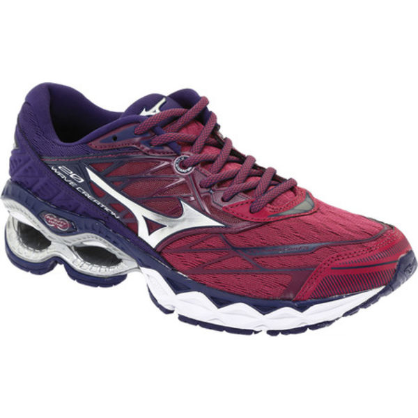 ミズノ レディース スニーカー シューズ Wave Creation 20 Running Shoe Purple Potion/Silver