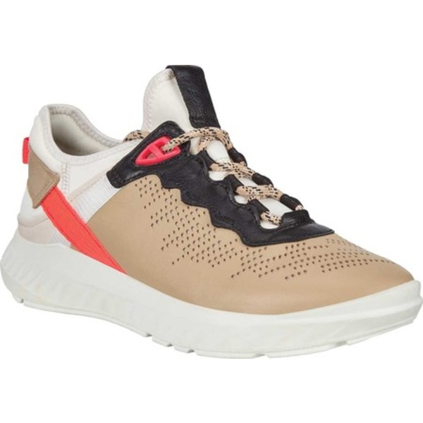 エコー レディース スニーカー シューズ ST.1 Lite Sneaker Multicolor Brown Nappa Leather