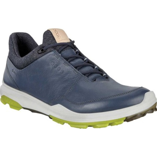 エコー メンズ スニーカー シューズ BIOM Hybrid 3 Tie GORE-TEX Golf Shoe Ombre/Kiwi Leather