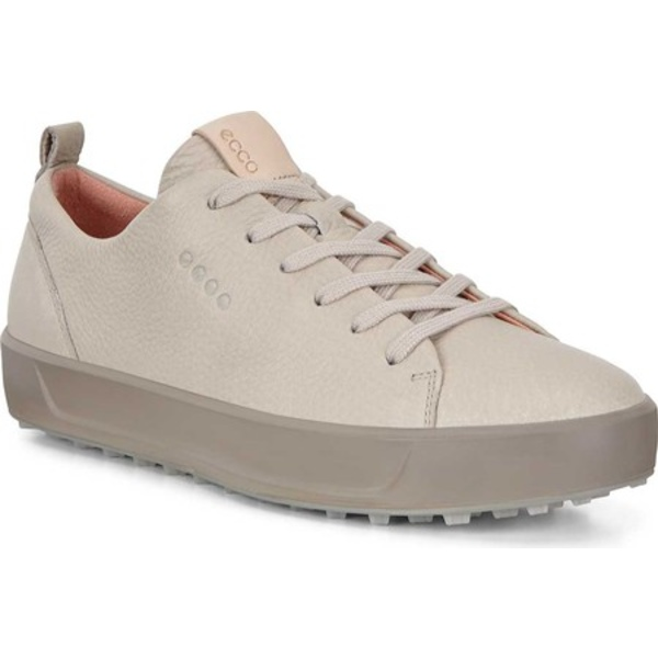 エコー レディース スニーカー シューズ Golf Soft Low HYDROMAX Sneaker Oyster Tumbled Leather