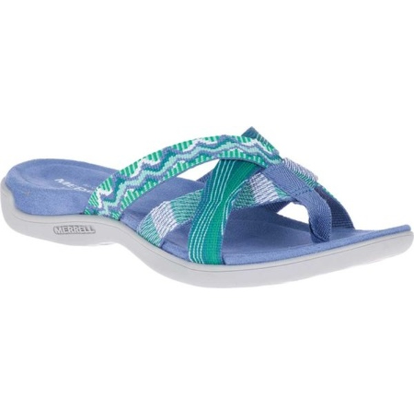 メレル レディース サンダル シューズ District Kalbury Web Thong Sandal Thistle Textile