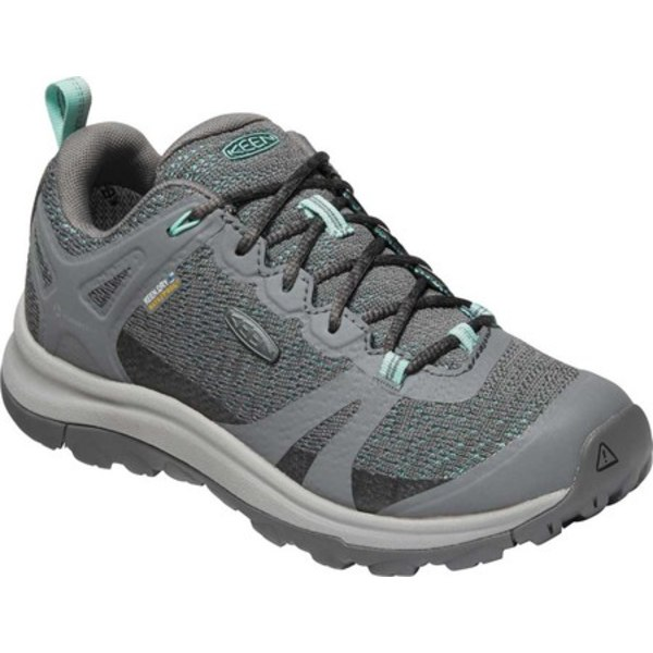 キーン レディース ブーツ&レインブーツ シューズ Terradora II Waterproof Trail Shoe Steel Grey/Ocean Wave
