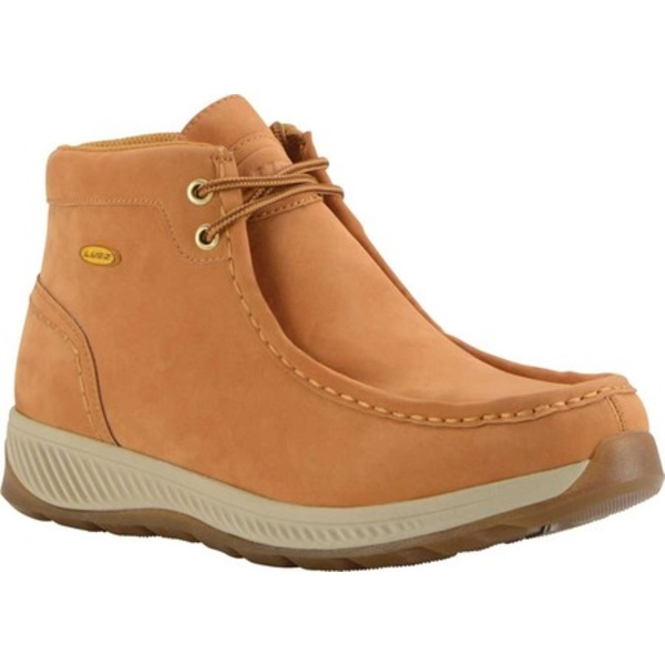ラグズ メンズ ブーツ&レインブーツ シューズ Antonio Moc Toe Boot Golden Wheat/Cream/Gum Synthetic Nubuck