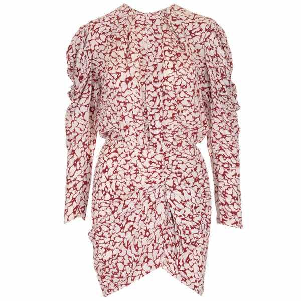 【正規品直輸入】 イザベルマラン レディース ワンピース トップス Isabel Marant toile Selwin Printed Mini Dress -, アキク e55867dd