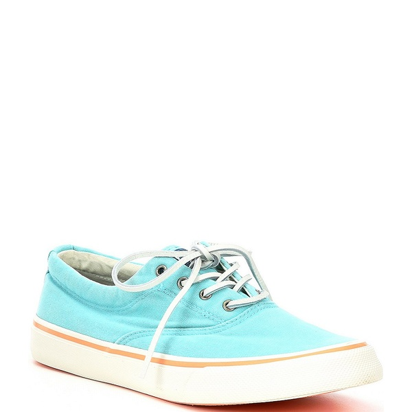 スペリー メンズ スニーカー シューズ Men's Striper II CVO Kick Back Sneakers Light Blue