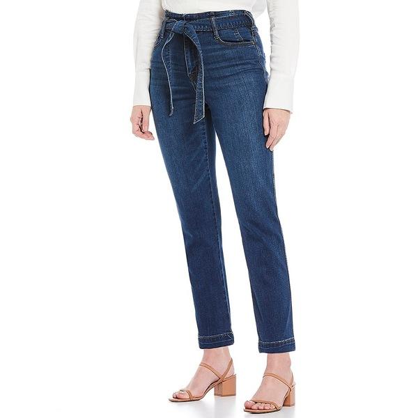 サンクチュアリー レディース デニムパンツ ボトムス Denim Modern Standard Self Belt Ankle Jeans Coastal Drive