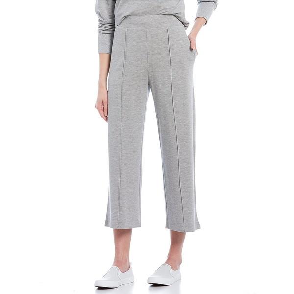 トッミーバハマ レディース カジュアルパンツ ボトムス Silky Sands Cotton Blend Wide Leg Cropped Pants Fossil Grey