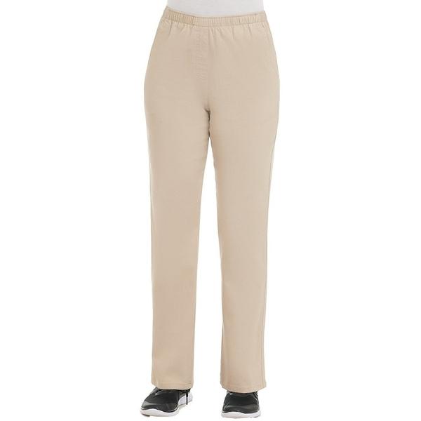 アリソンダーレイ レディース カジュアルパンツ ボトムス Twill Pull-On Straight Leg Pants Light Khaki
