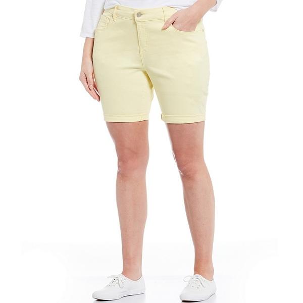 コードブリュー レディース カジュアルパンツ ボトムス Plus Size Classic Bermuda Short Mellow Yellow