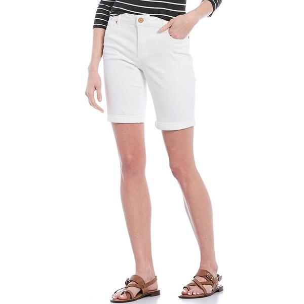 コードブリュー レディース カジュアルパンツ ボトムス Petite Size Classic Bermuda Shorts Bright White