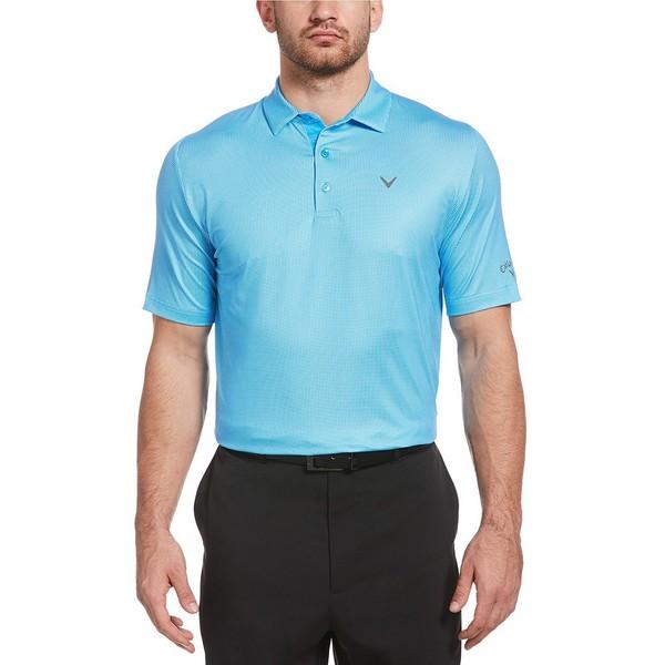 キャラウェイ メンズ シャツ トップス Golf Short-Sleeve Gingham Polo Spring Break