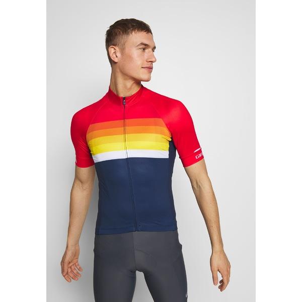 ジロ メンズ トップス Tシャツ bright red horizon T-shirt CHRONO 全商品無料サイズ交換 - 海外限定 EXPERT 時間指定不可 Print odof00d4