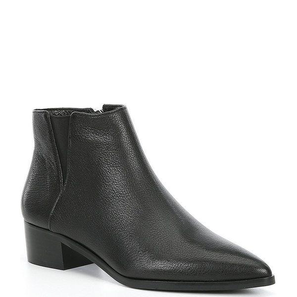 憧れの アントニオメラニー レディース Block ブーツ Leather&レインブーツ シューズ Lavonnie レディース Leather Block Heel Booties Black, ヨシノガワシ:3e7e2286 --- coursedive.com