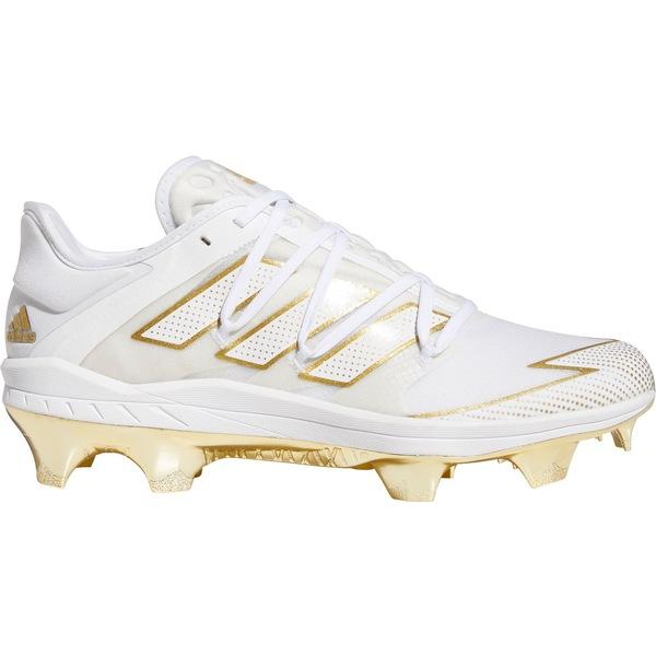 adidas メンズ 正規品スーパーSALE×店内全品キャンペーン スポーツ 野球 White Gold 全商品無料サイズ交換 アディダス Baseball TPU Men's 7 Cleats Afterburner SALE adizero