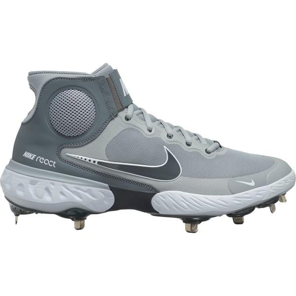<title>Nike メンズ スポーツ 野球 Grey White 全商品無料サイズ交換 ナイキ Men's Alpha Huarache Elite 3 Mid Metal Baseball Cleats 安心と信頼</title>