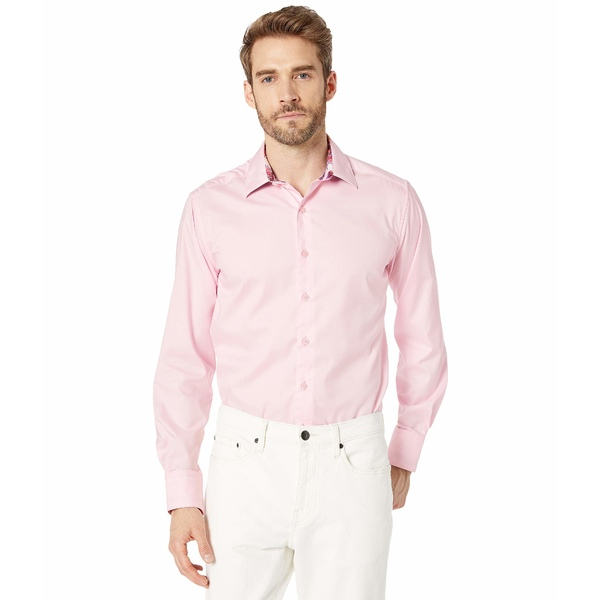 ロバートグラハム メンズ シャツ トップス Rutherford Classic Fit Sport Shirt Light Pink