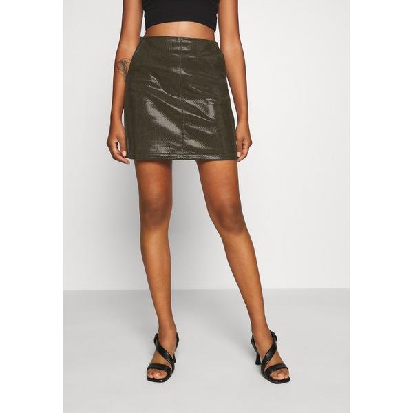 モリ― ブラッケン レディース ボトムス スカート khaki [並行輸入品] 全商品無料サイズ交換 - SKIRT LADIES ofqk0280 Mini skirt 在庫一掃売り切りセール