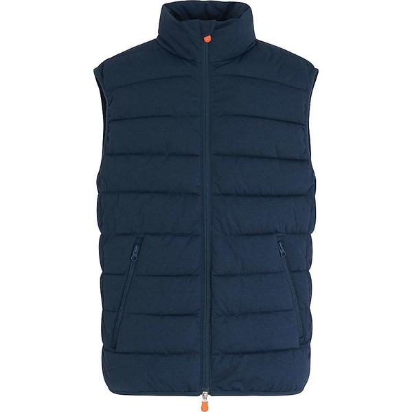 メンズ 209 ジャケット&ブルゾン Blue Stretch Save Melange Signature アウター The Duck Men's Navy セーブザダック Vest