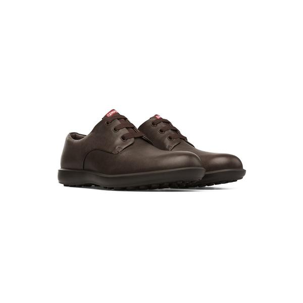 カンペール メンズ シューズ マーケティング ドレスシューズ Dark Brown 全商品無料サイズ交換 Work Shoes Men's 激安通販販売 Atom Dress