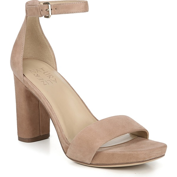 ナチュライザー レディース サンダル シューズ Naturalizer Joy Ankle Strap Sandal (Women) Gingersnap Suede
