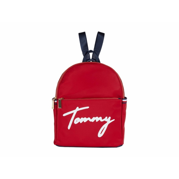 トミー ヒルフィガー レディース バックパック・リュックサック バッグ Sirina 1.5 - Backpack - Tommy Nylon Tommy Red