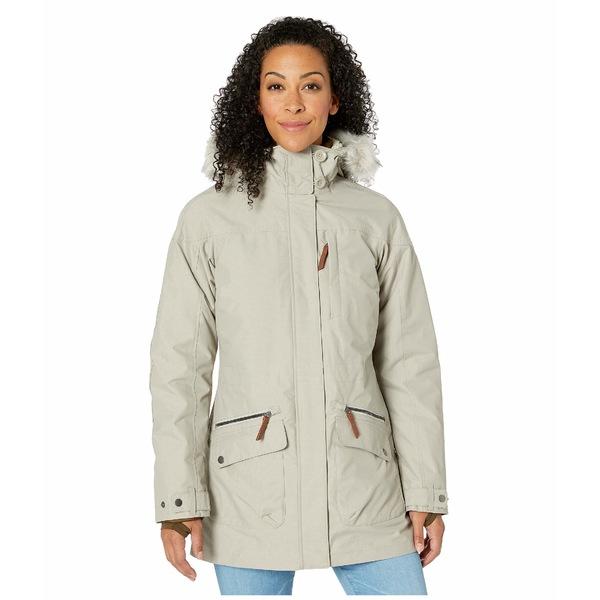 コロンビア レディース コート アウター Carson Pass IC Jacket Flint Grey/Chalk Sherpa/Olive Green