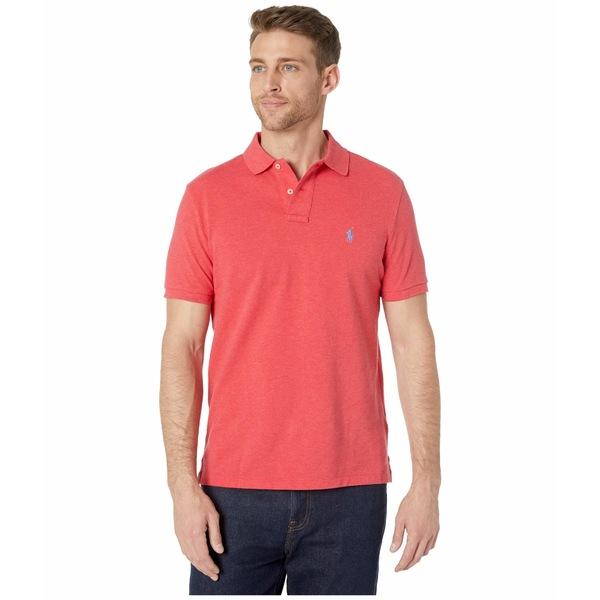 ラルフローレン メンズ シャツ トップス Custom Slim Fit Mesh Polo Red