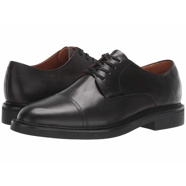 ラルフローレン メンズ ドレスシューズ シューズ Asher Cap Toe Black Calf Leather