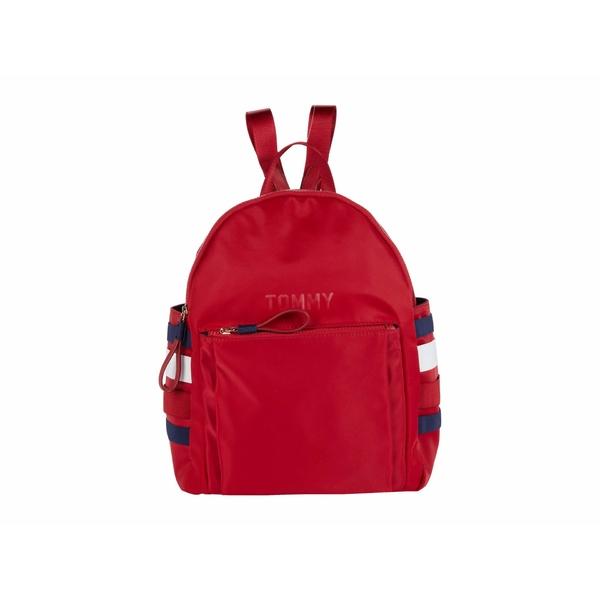 トミー ヒルフィガー レディース バックパック・リュックサック バッグ Olivia 1.5 - Small Backpack - Nylon Tommy Red