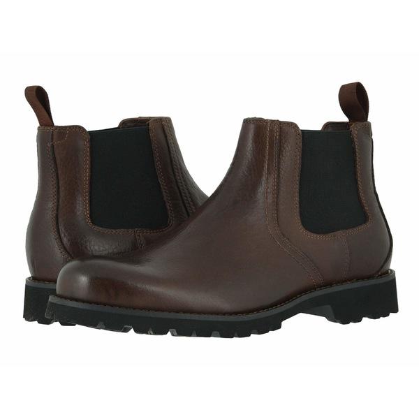 トラスク メンズ ブーツ&レインブーツ シューズ Gunter Dark Brown American Bison