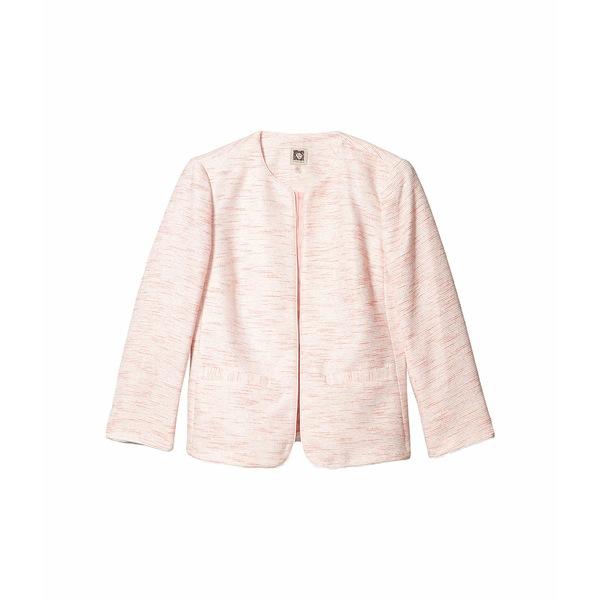 アンクライン レディース コート アウター Zip Front Jacket Anne White/Cherry Blossom Combo