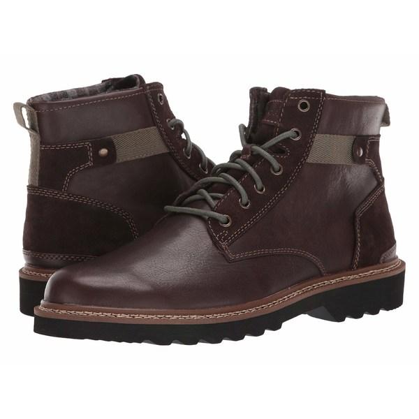 ロックポート メンズ ブーツ&レインブーツ シューズ Peirson Plain Toe Boot Java Leather/Suede