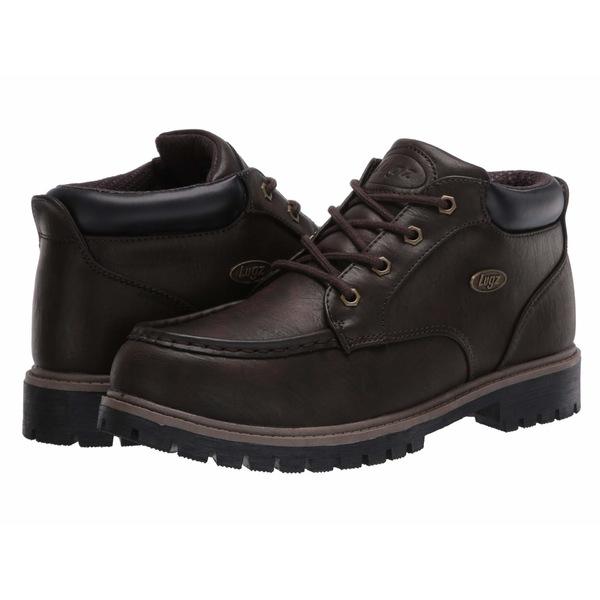 ラグズ メンズ ブーツ&レインブーツ シューズ Hartwick Dark Brown/reddish‐brown/Black