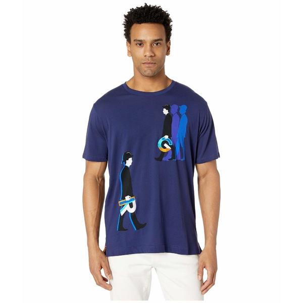 ロバートグラハム メンズ シャツ トップス Walk Like RG T-Shirt Sapphire