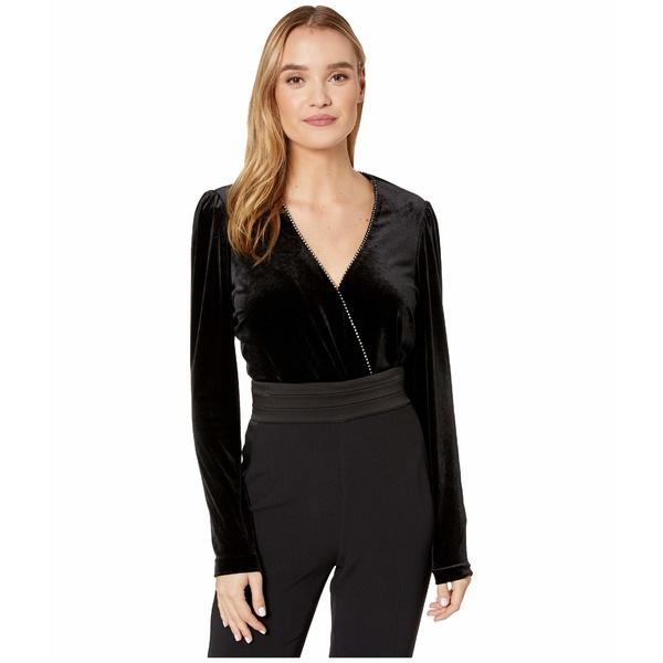 パーカー レディース シャツ トップス Zanna Combo Bodysuit Black