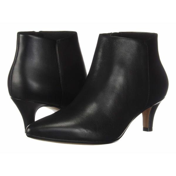 クラークス レディース ブーツ&レインブーツ シューズ Linvale Sea Black Leather