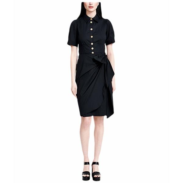 ナネットレポー レディース ワンピース トップス Marigold Dress Black