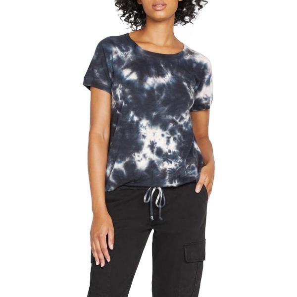 サンクチュアリー レディース Tシャツ トップス Lou Tie Dye Drawstring T-Shirt Washed Papaya Tie Dye