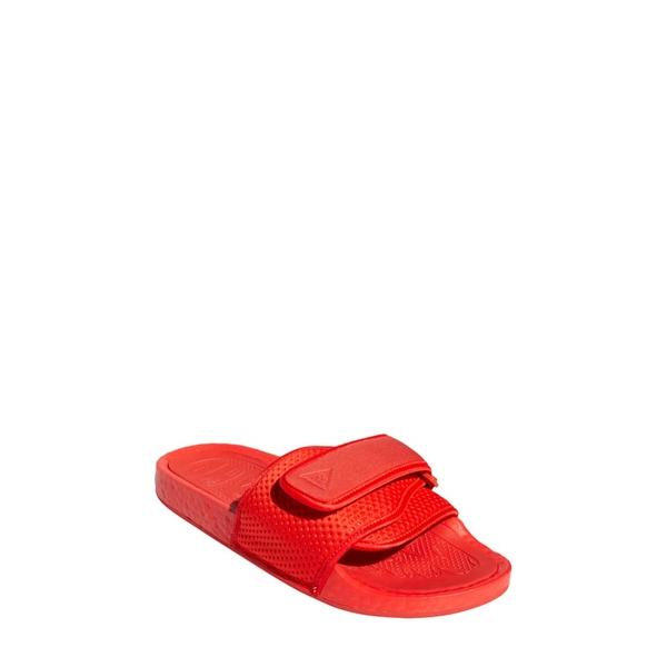 ワイスリー メンズ サンダル シューズ adidas x Pharrell Williams Boost Sport Slide Active Red