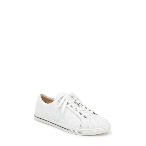 バッドグレイミッシカ レディース スニーカー シューズ Badgley Mischka Jubilee Sneaker White Glitter