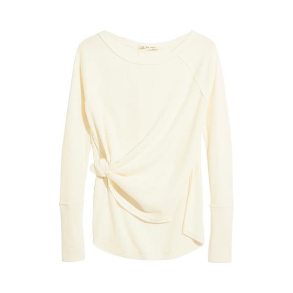 フリーピープル レディース シャツ トップス Snowy Thermal Shirt White
