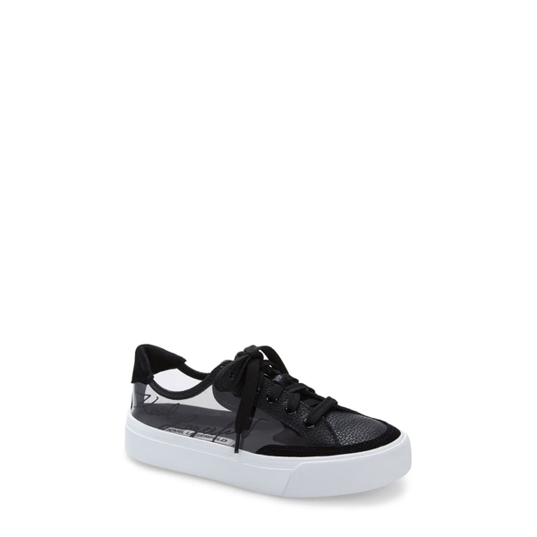 カールラガーフェルド レディース スニーカー シューズ Ryley Sneaker Smoke/ Black Leather