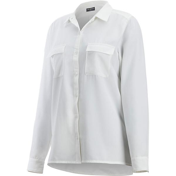エクスオフィシオ レディース ハイキング スポーツ ExOfficio Women's Kizmet LS Shirt White