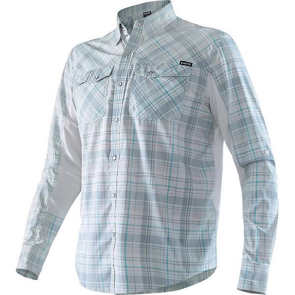 エヌアールエス メンズ シャツ トップス NRS Men's Guide LS Shirt Grey