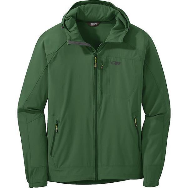 アウトドアリサーチ メンズ ジャケット&ブルゾン アウター Outdoor Research Men's Ferrosi Hooded Jacket Emerald
