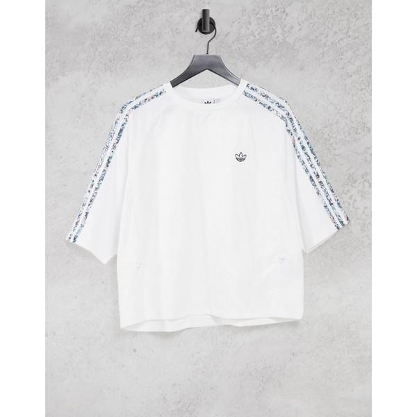 Originals boxy レディース トップス Bellista アディダスオリジナルス adidas white in Tシャツ t-shirt White